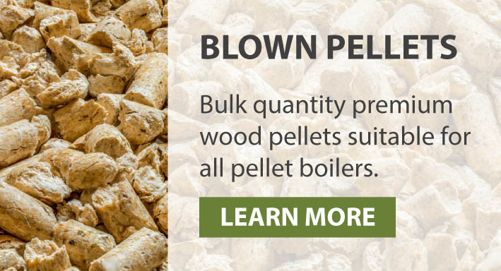Blown Wood Pellets